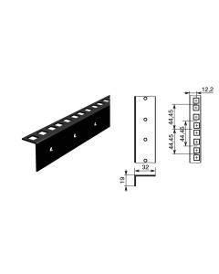Profilé de rack simple à trous carrés 42070