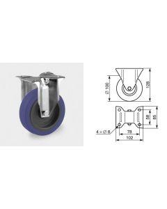Roulette fixe diamètre 100mm 1369