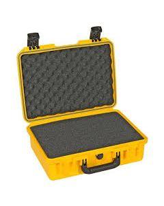 Valise Peli-Storm 2300 jaune, avec mousse prédécoupée