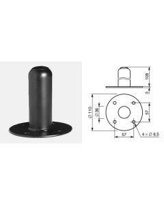 Douille encastrable en acier pour enceinte acoustique 6510