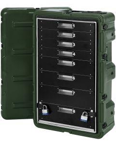 Caisse militaire Médicale 8 tiroirs Medchest