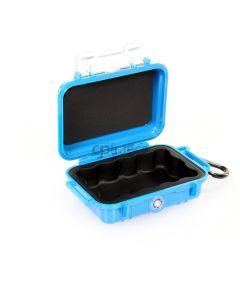 Microcase 1010 bleue, avec liner noir