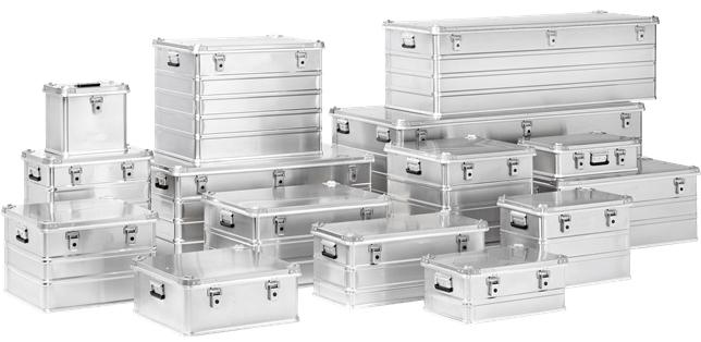 Caisses aluminium CP Access