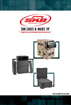 Catalogue SKB Cases & racks 19 pouces